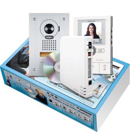 Aiphone JKS-IPEF Hands-Free Color Video Intercom over IP Adapter Set JKS-IPEF by Aiphone