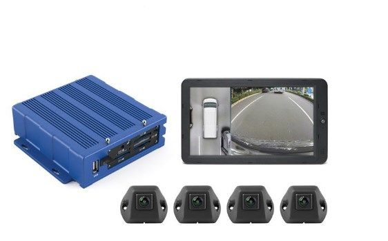 RVS Systems Inview 360° HD Around Vehicle Monitoring System RVS-01-360-Calib by RVS Systems