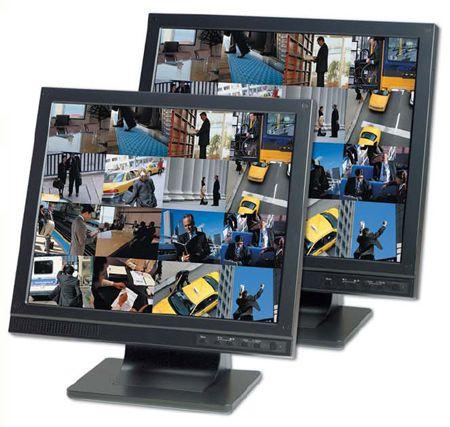 "GANZ ZM-L17A 17"" LCD, 1280X1024, HDMI, BNC & VGA inputs, PIP & Protective Screen (GANZZML17A) ZM-L17A by Ganz"