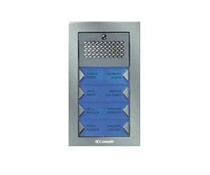 Comelit PA10F Powercom Audio Flush Mount 10 Push Button Entry Panel Kit PA10F by Comelit