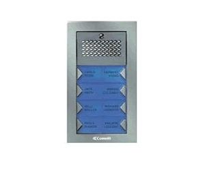 Comelit PA6S Powercom Audio Surface Mount 6 Push Button Entry Panel Kit PA6S by Comelit