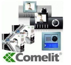 Comelit 8492/U DivaKit 2 Family Kit SimpleBus 2 Wire, Silver 8492/U by Comelit