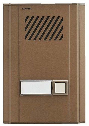 Aiphone LE-DL Metal Door Station with Backlit Directory LE-DL by Aiphone