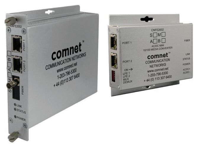 Comnet CNFE2004S1A 2 Channel 10/100 Mbps Ethernet 1310/1550nm CNFE2004S1A by Comnet