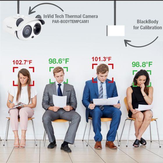 InVid Body Temperature Detection Network Camera System SEC-BODYTEMPCAM-KIT by InVid