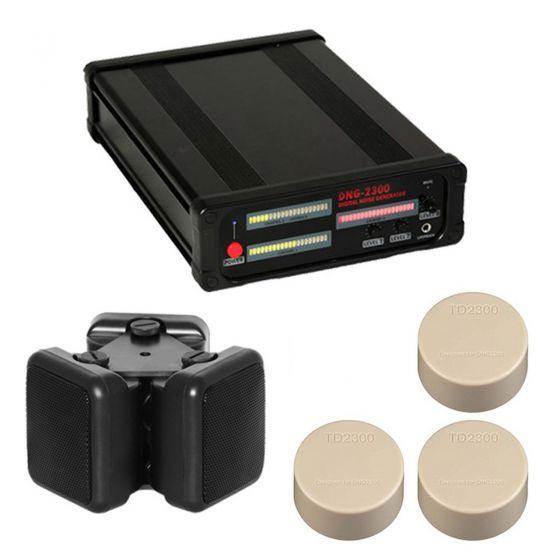 KJB DNG2300-4 iProtect 3 Channel White Noise Generator Kit 4 DNG2300-4 by KJB