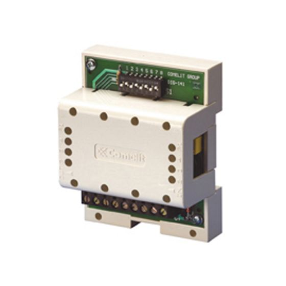 Comelit 1256 Actuator Relay for Controlling a 10A Contact for Simplebus2 1256 by Comelit