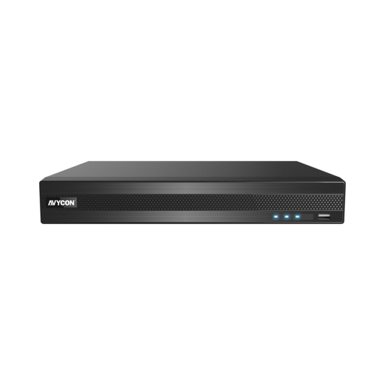 Avycon AVR-NT804A-10T 4 Channels HD All-In-One H.265 Digital Video Recorder, 10 TB AVR-NT804A-10T by Avycon