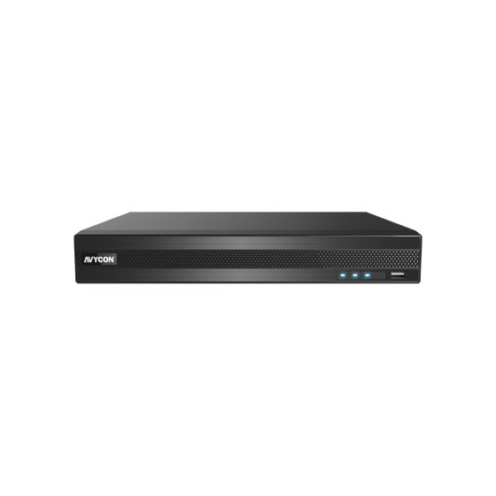 Avycon AVR-NT808A-8T 8 Channels HD All-In-One H.265 Digital Video Recorder, 8 TB AVR-NT808A-8T by Avycon
