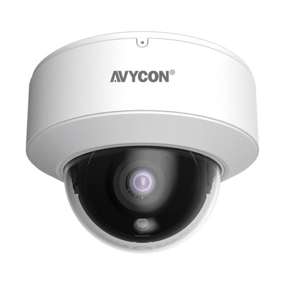 Avycon AVC-VHN81FLT-2-8 8 Megapixel IR Outdoor Dome Camera with 2.8mm Lens AVC-VHN81FLT-2-8 by Avycon