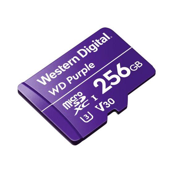 Avycon AVY-WDD256G1P0C WD Purple Surveillance 24/7 Drive, MicroSD Card, 256GB Capacity AVY-WDD256G1P0C by Avycon
