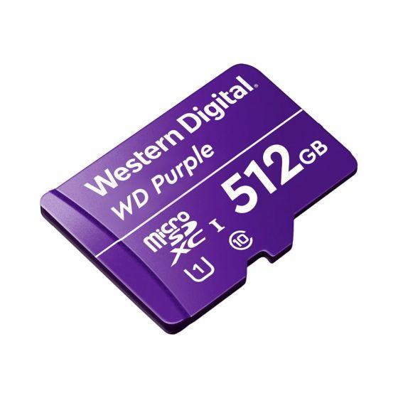 Avycon AVY-WDD512G1P0C WD Purple Surveillance 24/7 Drive, MicroSD Card, 512GB Capacity AVY-WDD512G1P0C by Avycon