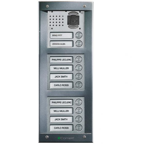 Comelit VV10S VandalCom Video Surface Mount 10 Push Button Entry Panel Kit VV10S by Comelit