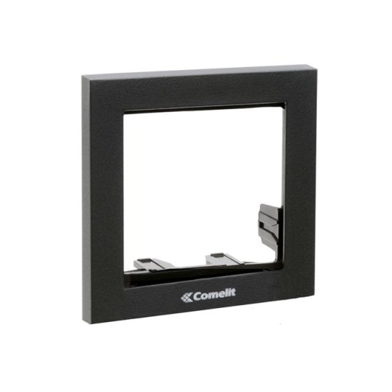 Comelit 3311-1A 1 Module Frame, Anthracite, Powercom/Ikall Series 3311-1A by Comelit