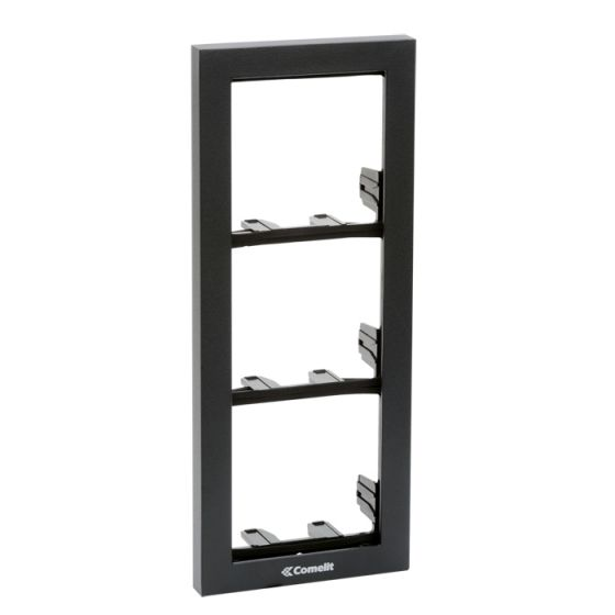 Comelit 3311-3A Module-Holder Frame Complete With Cornice For 3 Module 3311-3A by Comelit
