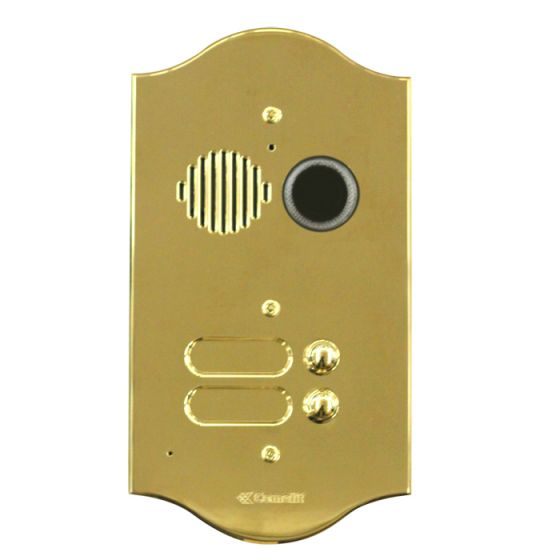 Comelit 3220-2-R Roma Series Brass Video Entrance Panel With 20 Push-Buttons On 2 Rows 3220/2/R by Comelit