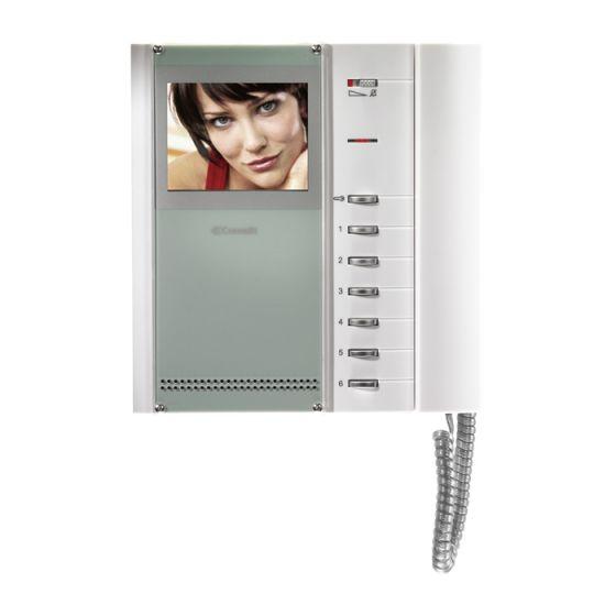 Comelit 5702 Bravo Handset Version Color Monitor 5702 by Comelit