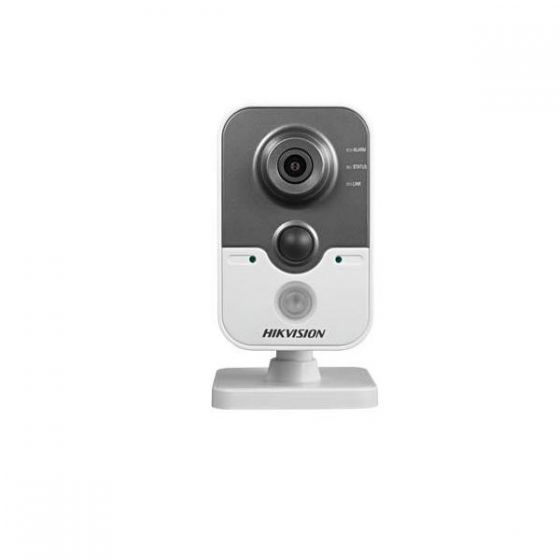 Hikvision DS-2CD2412F-IW-2-8MM 1.3 Megapixel IR Cube Network Camera, 2.8mm Lens DS-2CD2412F-IW-2-8MM by Hikvision
