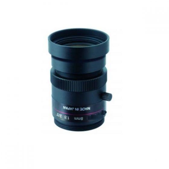 Ganz M0824-MPW2-R 2/3 Type Cameras, Ruggedized 5 Megapixel, F2.4, C‐Mount, 8mm Lens M0824-MPW2-R by Ganz