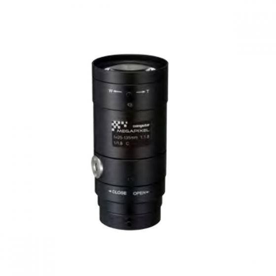 "Computar E5Z2518C-MP 1/1.8"" Megapixel Cameras, F1.8, 25-135mm Lens, C-Mount E5Z2518C-MP by Computar"