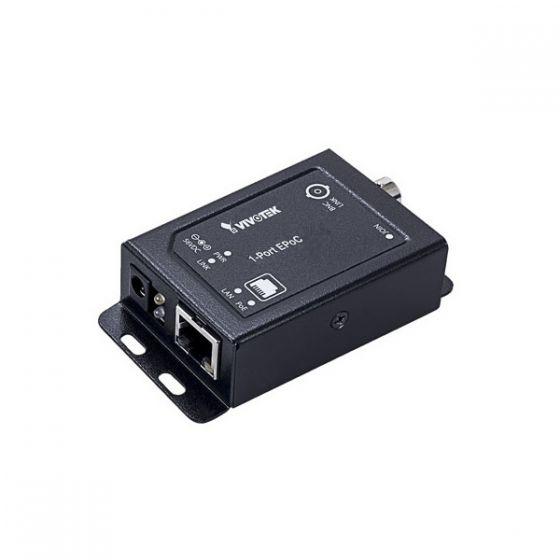 Vivotek AP-FEX-0105-T 1 Port EPoC Transmitter Module, DC 56V, 1 DC Jack AP-FEX-0105-T by Vivotek