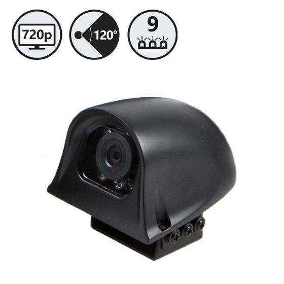 RVS Systems RVS-775R-02 120° HD Side Camera, Right, 33' Cable, Black RVS-775R-02 by RVS Systems