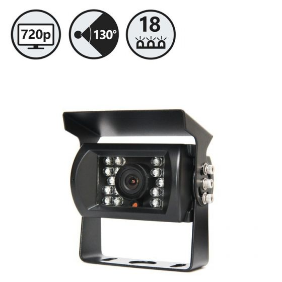 RVS Systems RVS-770-HD-03 130° 720 TVL HD Backup Camera, 16' Cable RVS-770-HD-03 by RVS Systems