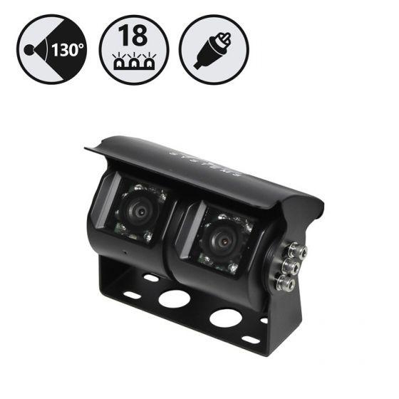 RVS Systems RVS-813-05 130° 480 TVL Dual Lens Backup Camera, 2 x 33' Cable RVS-813-05 by RVS Systems
