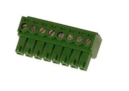 Axis 18601 8 Pin Terminal Connector 3.81 mm for 2400/2401, 2400+/2401+, 2490 18601 by Axis
