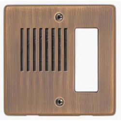 Aiphone ICP-AB Antique Brass Panel ICP-AB by Aiphone