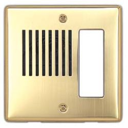 Aiphone ICP-BR Brass Panel ICP-BR by Aiphone