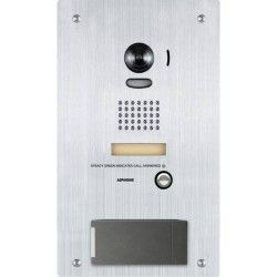 Aiphone IS-DVF-HID Stainless Steel Video Door Station with HID ProxPoint Plus Reader IS-DVF-HID by Aiphone