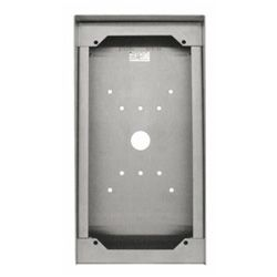 Aiphone SBX-DVF-P Stainless Steel Surface Mount Box for Card Reader Door Stations SBX-DVF-P by Aiphone