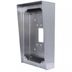 Aiphone SBX-ISDVF Stainless Steel Surface Mount Box for Door Stations SBX-ISDVF by Aiphone