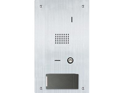 Aiphone IS-SS-HID-I Audio Door Station with HID ICLASS Card Reader IS-SS-HID-I by Aiphone