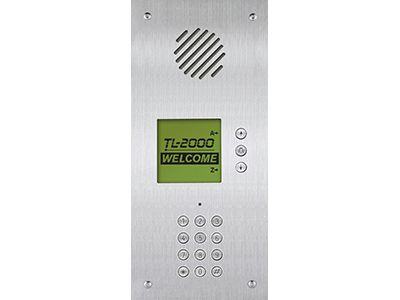 Aiphone TL-2000 Telephone Multi-Tenant Entry Panel, Flush Mount TL-2000 by Aiphone