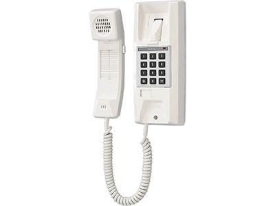 Aiphone YAZ-90-3W Microprocessor Master Handset, White YAZ-90-3W by Aiphone
