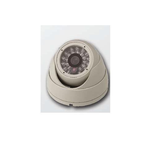 Cantek ETVI801R24-WHITE HD-TVI IR Eyeball Camera ETVI801R24-WHITE by Cantek
