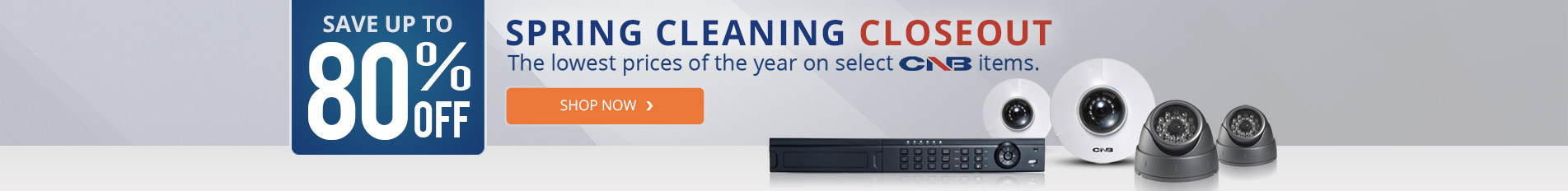 CNB Spring Cleaning Closeout Sale