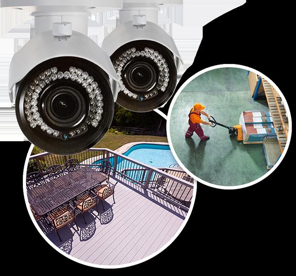 8 Camera complete surveillance system